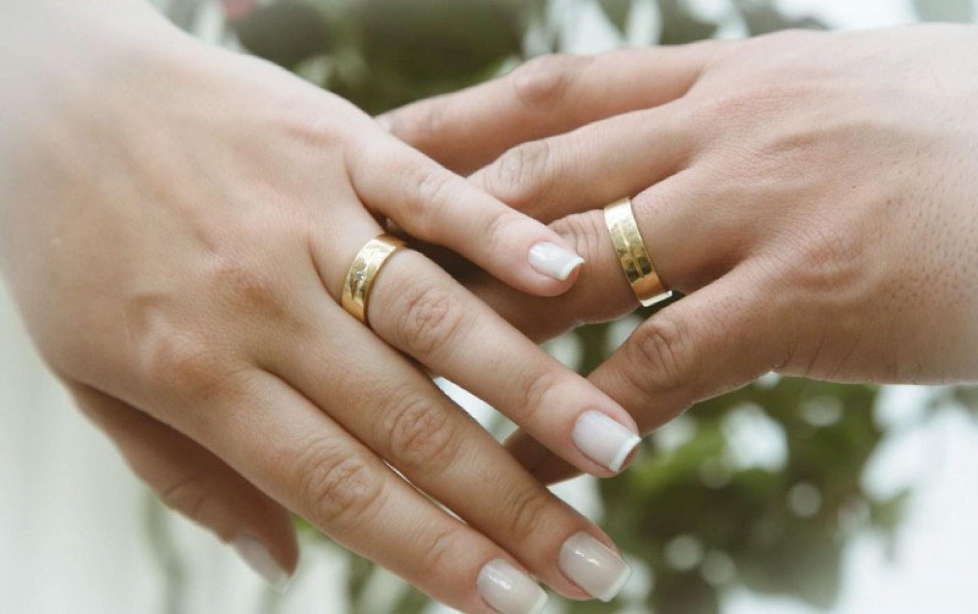 Alianças de Casamento de ouro 800%