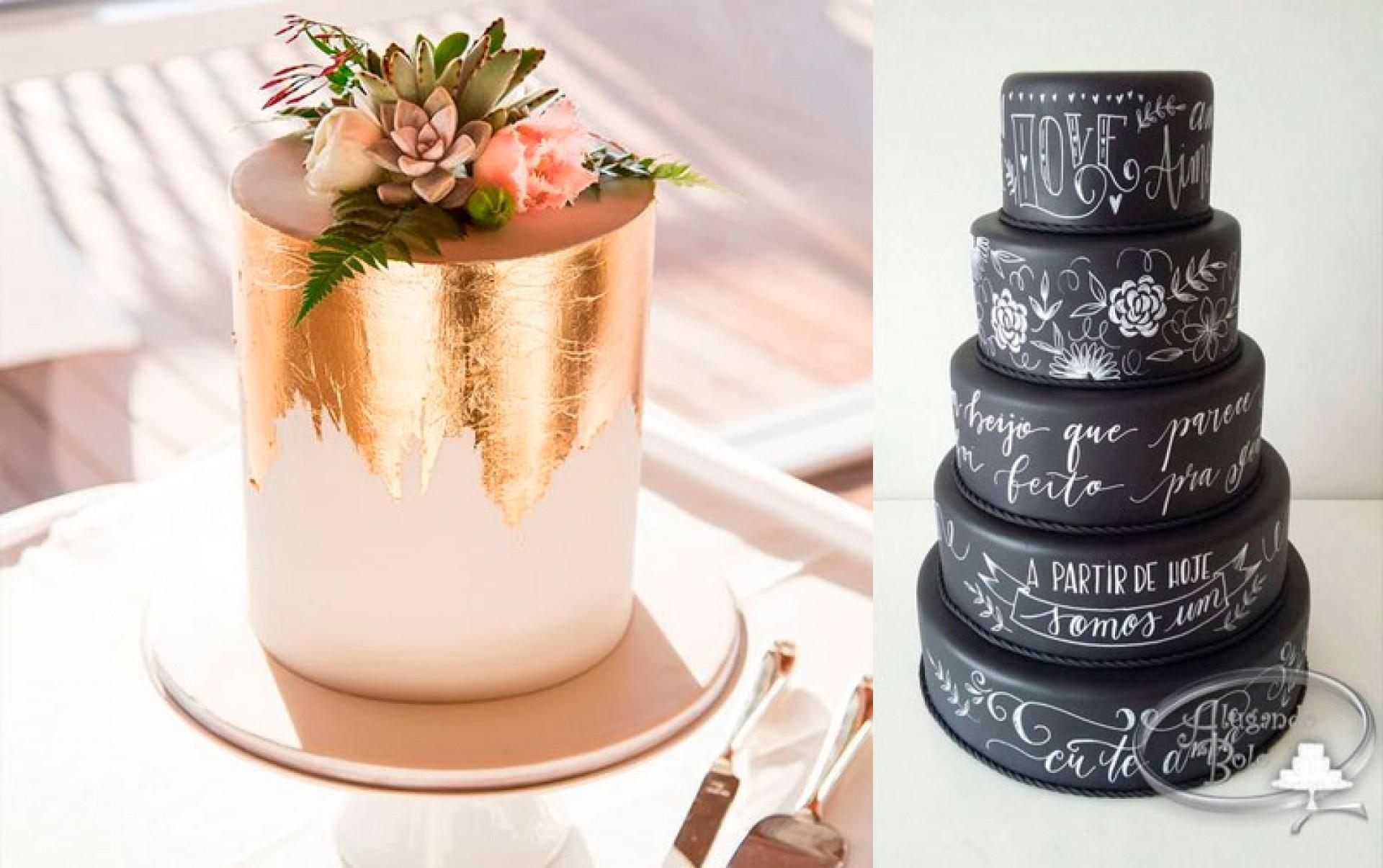 Dicas do Bolo de Casamento para 2019