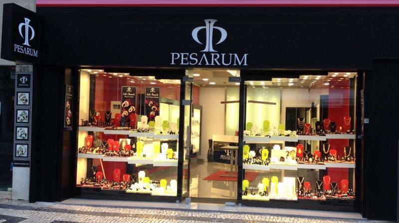 Contado da Pesarum Ourivesaria em Lisboa