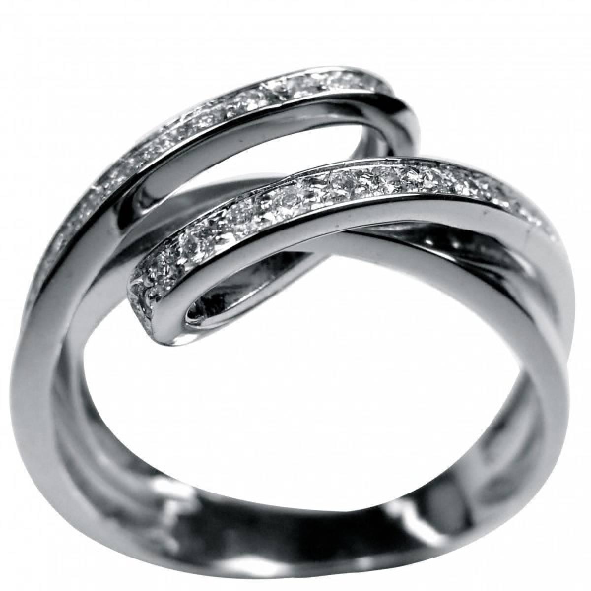 Anel de Noivado ouro branco, amarelo ou rosa, com Diamantes