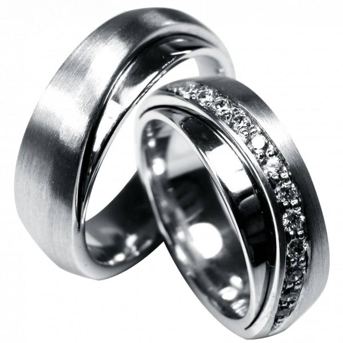 Alianças de Casamento com Diamantes ou Zircónias em ouro de 9 e 19,2 kts
