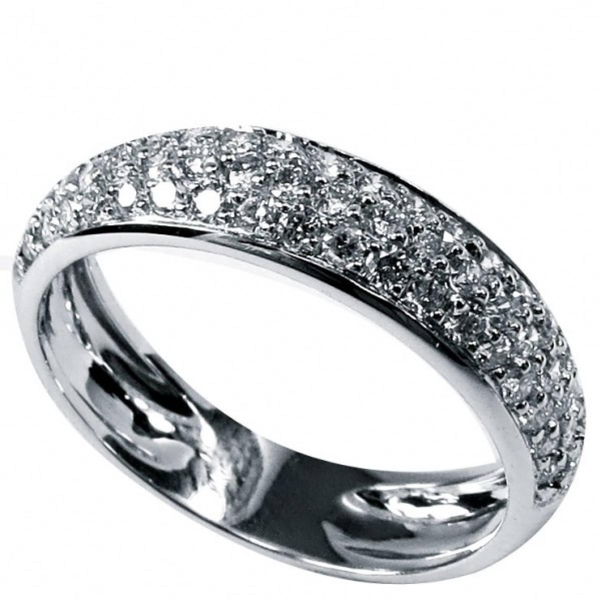 Anel de Noivado em ouro de 9 e 19 kts, com diamantes ou zircónias