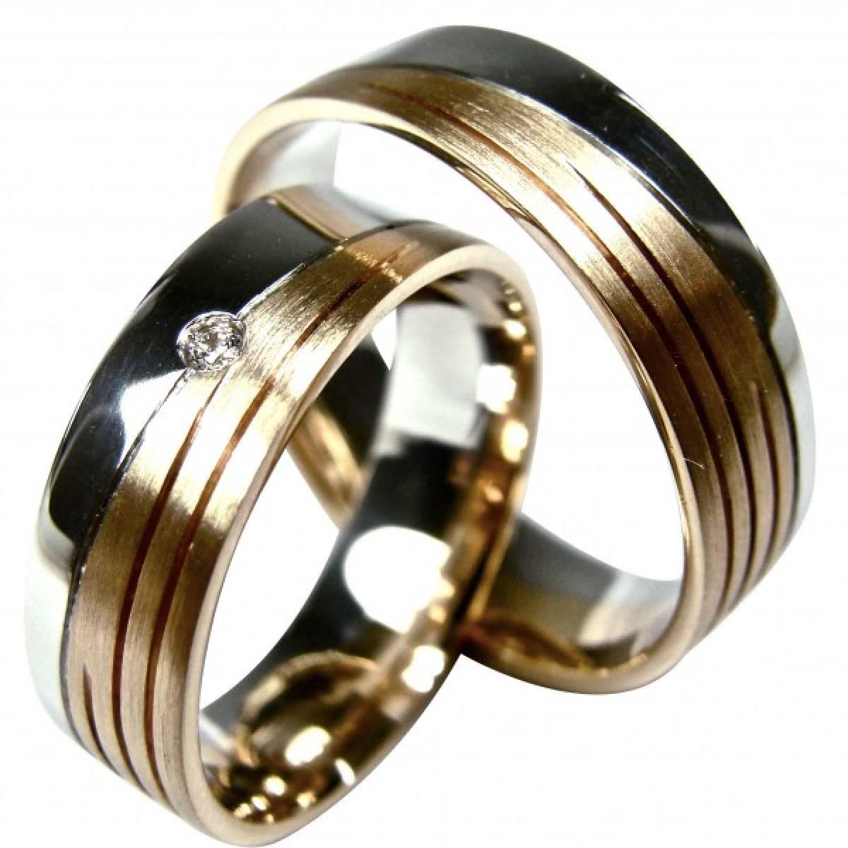 Alianças de Casamento em ouro de 9 e 19 kts, com diamante ou zircónia
